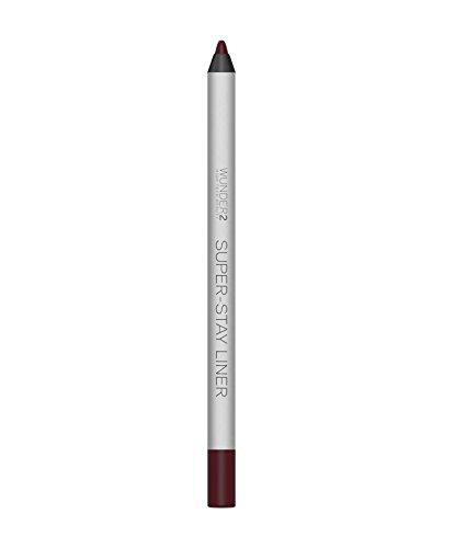 WUNDER2 Super-stay Liner Long-Lasting & Waterproof Colored Eyeliner, Essential Bordeaux, 1.2 Gram