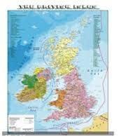 Cartina Stradale Gran Bretagna.Carta Geografica Murale Fisica E Politica Gran Bretagna Amazon It Cancelleria E Prodotti Per Ufficio