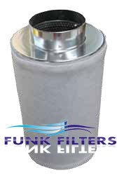 """Funk Filters 10"""" x 24"""" Activated Carbon Scrubber Odor Con..."""