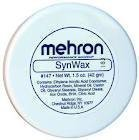 [Mehron SynWax Synthetic Modeling Wax, 1.5 Ounce] (Nose Putty)