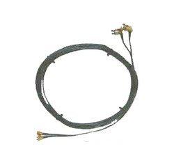novero dabendorf Twin-Kabel für LTE 800 MIMO Antenne 5m