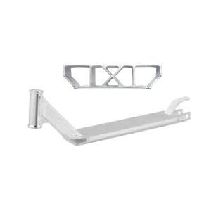 - Razor Phase Two X-Deck with Brake and Wheel Bolt, Silver, 26 x 6.25 x 9.5-Inch