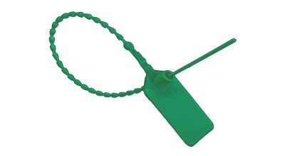 Green Pull-Tite Security Seal (Package of 100) (Security Pull)