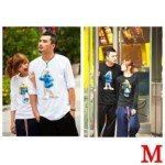 Lovely The Smurfs Style 100% Cotton Lover's Long-Sleeve T-Shirt for Lady(1-Pack)-Color Assorted/Size M