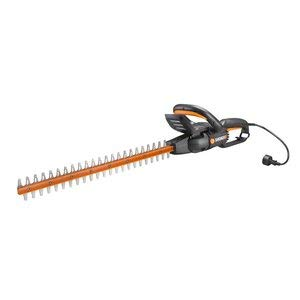 "Worx 24"" 4.5 Amp Rotating Head Lightweight Corded Electric Hedge Trimmer 