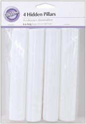Wilton Bulk Buy Hidden Pillar 4 pack 6 inch W303-8 (3-Pack)