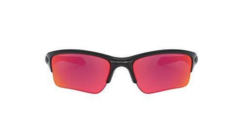 Image of Oakley Boys Quarter Jacket (Youth Fit) Prizm Sunglasses, Polished Black/