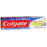 Colgate Total Whitening Anticavity and Antigingivitis Gel Toothpaste 6 oz (Pack of 2) ()