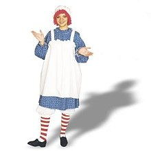 Scary Raggedy Ann Costumes - Costumes For All Occasions 12110 Raggedy