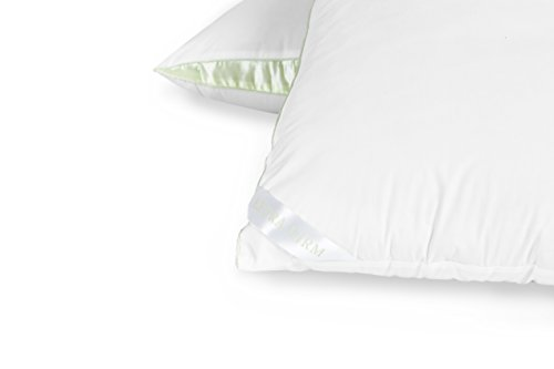 LC Classic's Extra Firm Support Cotton Pillow for Side Sleepers with Superside Gusset, King