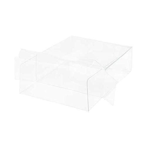 (Durable Chocolate & Truffle Boxes, Clear w/Inserts | Size 4 1/4