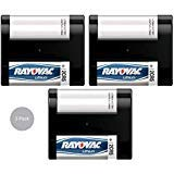 Rayovac Lithium Photo Battery 2CR5 6-Volt (Bulk) (3 Pack)