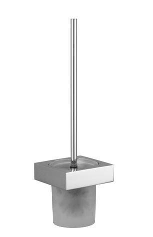 Dornbracht 83900780-49 - Toilet brush set, wall-mounted model