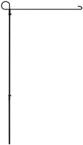 Metal Garden Flag Stand - Evergreen 9923013 Iron Flag Stand Holder, Large