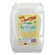 Organic White Flour by Bob's Red Mill, 48 oz (Pack of 4)
