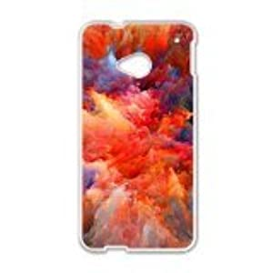 Malcolm Colour Phone Case for HTC One M7 case
