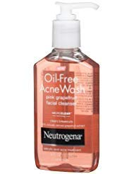 Neutrogena Oil Free Acne Wash Facial Cleanser Amazon Com