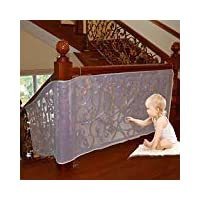Luerme 10Ft Child Safety Rail Net Outdoor Balcony & Stairway Deck Railing Safety Net Banister Stair Net Child Pet Toy Safety Stairs Protector Kid Safe Guard