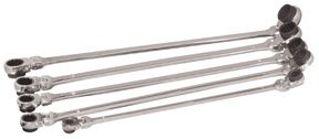 ATD Tools 99650 XL Ratcheting Wrench Set with 10 Metric Sizes - 5 Piece (Wrench Matco Tools)