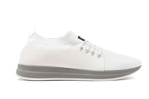 MUROEXE Army Unite Total White Sneaker Uomo Donna White, 38 MainApps