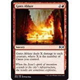 - Magic: The Gathering - Gates Ablaze - Ravnica Allegiance