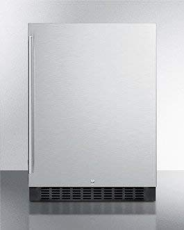 Summit SPR627OSCSS Beverage Refrigerator, Stainless Steel