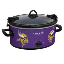 Official NFL Crock-pot Cook & Carry 6 Quart Slow Cooker (Minnesota Vikings) Review