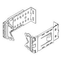 Graber Bracket - Graber 2 1/2-Inch Wide Dauphine Curtain Rod Brackets, 6 to 8 1/2-Inch Projection (White, 1 Pair)