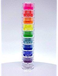 Myo 3 Gram Set's Loose Eyeshadow Mica Pigment Powder Makeup Choose Your Set's. (Ultra Bright Stackable Tower Set) - Pro Stackable