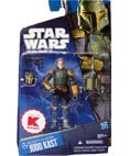 Star Wars Bounty Hunter Jodo Kast 3-3/4 Inch Scale Exclusive Action Figure with Removable Helmet ()