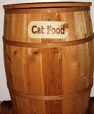 Cat Pet Food Container - Large