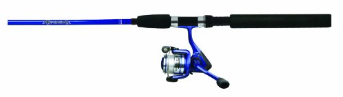 Okuma Fin Chaser Spinning Rod and Reel Combo, 10-Foot, Blue Finish Review