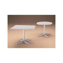48 Round Top for Pedestal Conference Table, Light Gray -