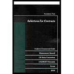 Selections for Contracts ((6th,)03) by Farnsworth, E Allen [Paperback (2003)] pdf