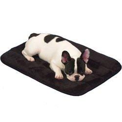 (Precision Pet Snoozy Sleeper 23 inch x17 inch Black)
