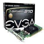 evga 512 P3 1213 KR EVGA 512-P3-1310-LR nVIDIA GT210 512MB PCI-E DVI/VGA/HDMI 512-P3-1213