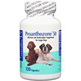 Amazon.com: proanthozone 50 mg para perros de gran tamaño ...