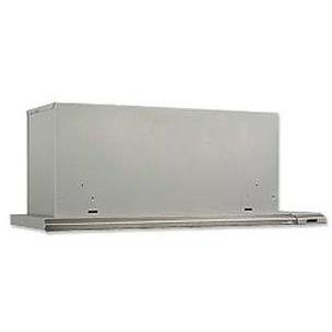Broan 153004 Slide Out Range Hood, 30-Inch 300 CFM, Brushed Aluminum