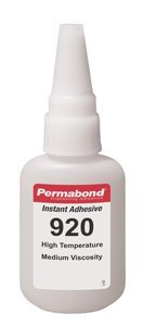 1oz Bottle Permabond 920 Clear Cyanoacrylate High Temperature / High Strength Instant Adhesive
