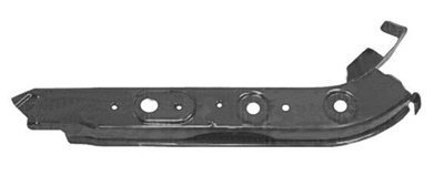 MAPM Premium Upper, Outer Quality Right/Passenger Side Radiator Support Primed Steel For Nissan Versa 2007-2012 - NI1225170 by Make Auto Parts Manufacturing