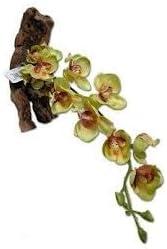 "Magnaturals 16"" Yellow Orchid Pet-Tekk Magnetic Reptile Plant"