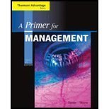 A Primer for Management (Book Only), Dumler, Michael P. and Skinner, Steven J., 0324559399