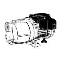 Pentair SIMER GIDDS-704002 Shallow Well Pump 1/2 hp - 704002