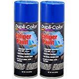 - Dupli-Color BCP104 Blue Caliper Paint with Ceramic 12 oz. Aerosol (2 PACK)