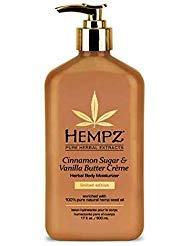 (Hempz Limited Edition Cinnamon Sugar & Vanilla Butter Creme Herbal Body Moisturizer 17)