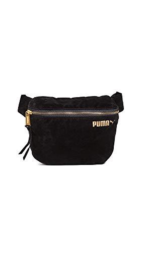 PUMA Women's Velvet Hip Sack, Black, One Size
