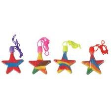 Star Sand Art Necklaces (Pack of 12)