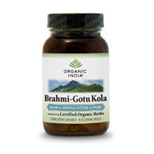 Brahmi-Gotu Kola  soutien du système nerveux - 90 Vegetarian Capsules