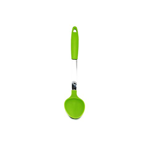 Quicklids® Silicone and Stainless Steel Serving Spoon.