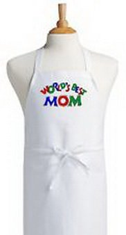 [Blazers Proforms Costumes - Womens Kitchen Apron World's Best Mom Fun Novelty Aprons by CoolAprons] (Best Dance Moms Costumes)